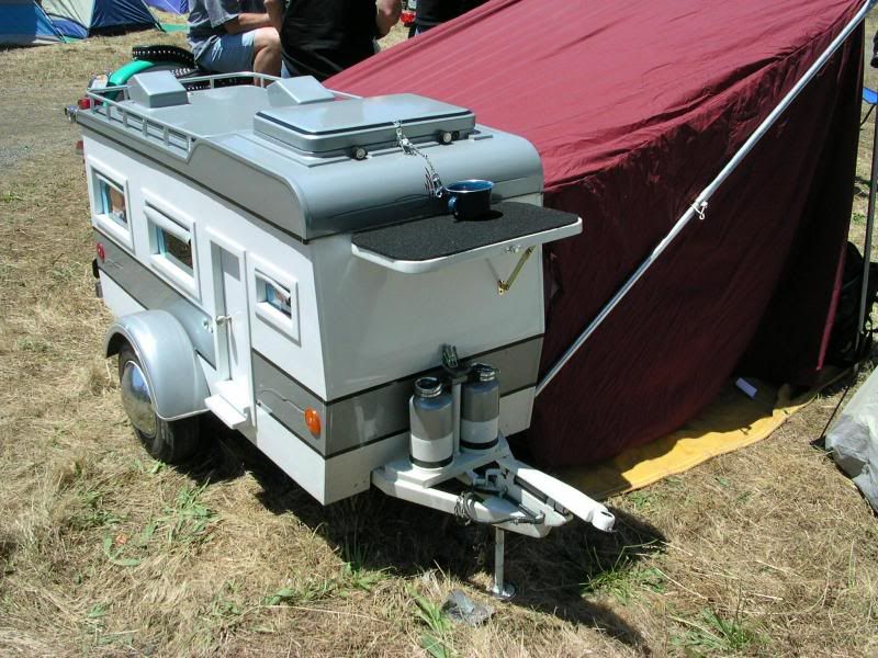 Motorcycle Trailer Camper Trailers Camping Motorcycle