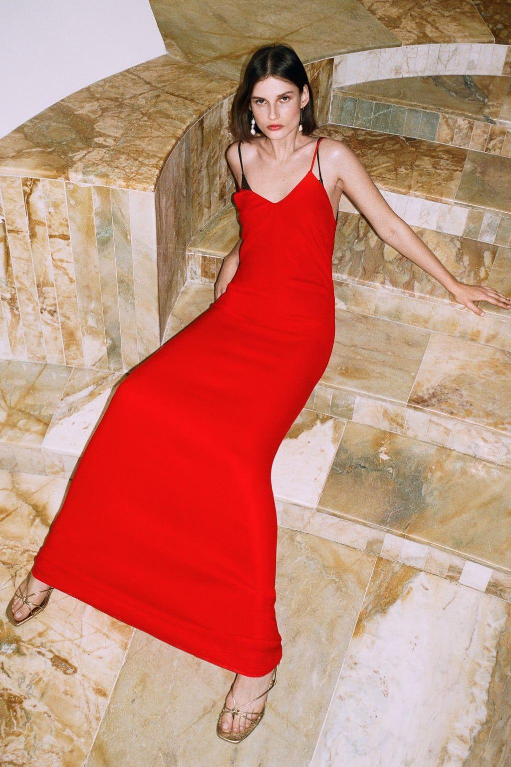 Vestido Ss Largo Edición Zara Tirantes LimitadaFashion zUqVpSMG