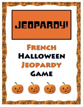 this french halloween jeopardy game is a lot of fun during the month of october