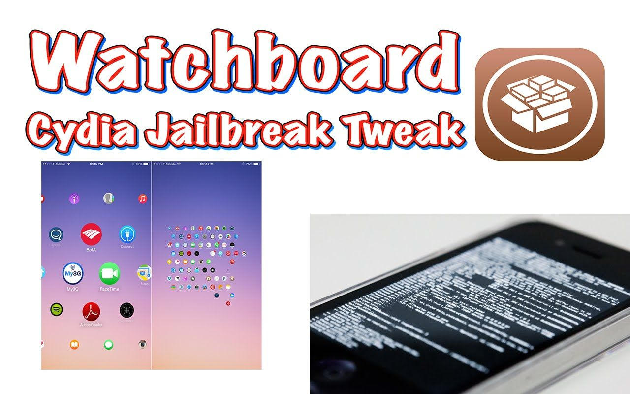 Watchboard A homescreen replacement, inspired by the
