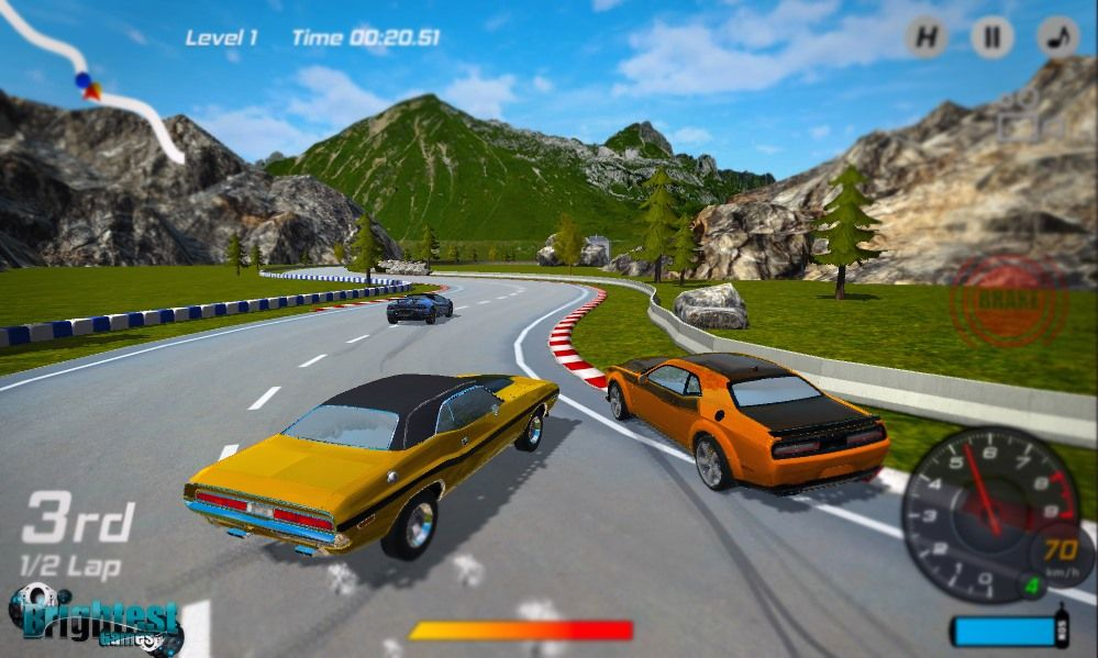 Play Burnout Extreme Car Racing On Brightestgames Com Race Cars Cool Supercars Racing