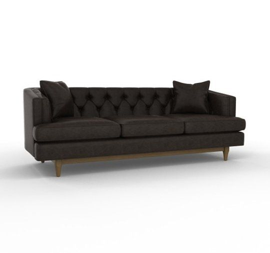 dwellstudio chester sofa city furniture village 10 dark & moody hued sofas | espresso, apartments and ...
