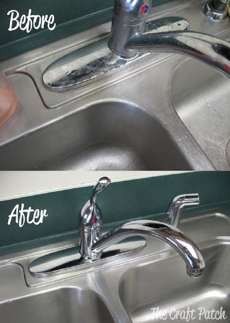 Top 10 Best Kitchen Sink Cleaning Tips | Sinks, Kitchens and Cleaning