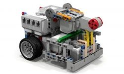 LEGO MOC MOC-3026 Fllying Lemur EV3 Robot - building