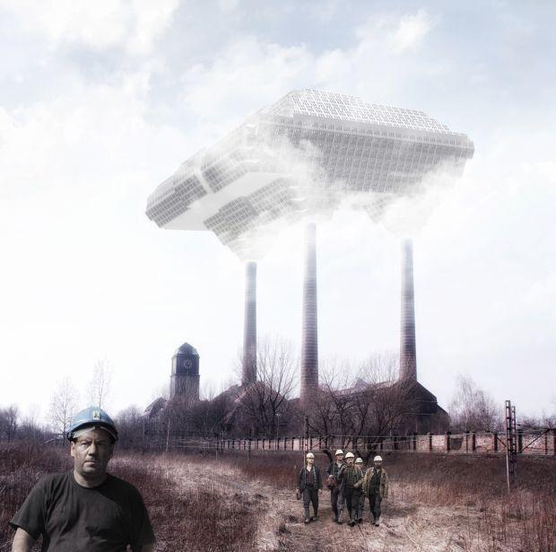 Cloudloft ec_szombierki | be3design, 2012