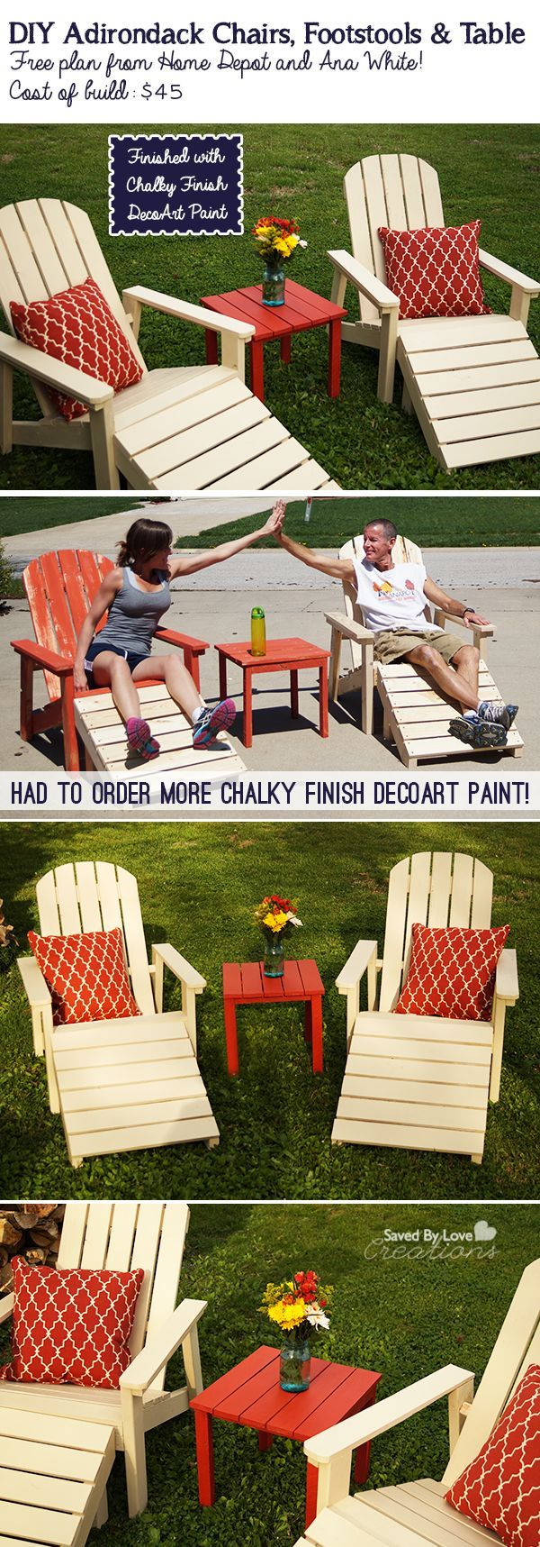 45 diy adirondack outdoor furniture plan savedbyloves diy and