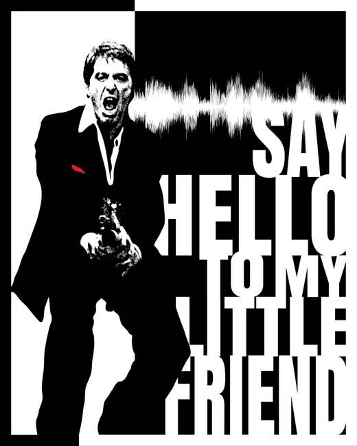 Scarface Scarface Poster Gangster Movies Scarface Quotes