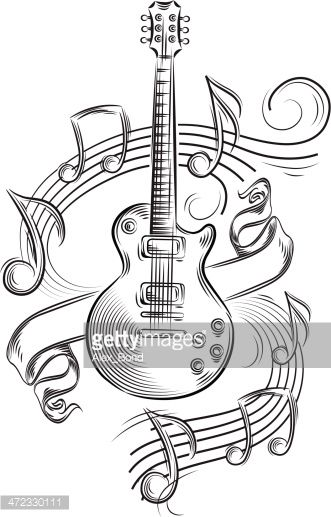 Dessin De Music musical notes - google search | music is life | pinterest | guitare