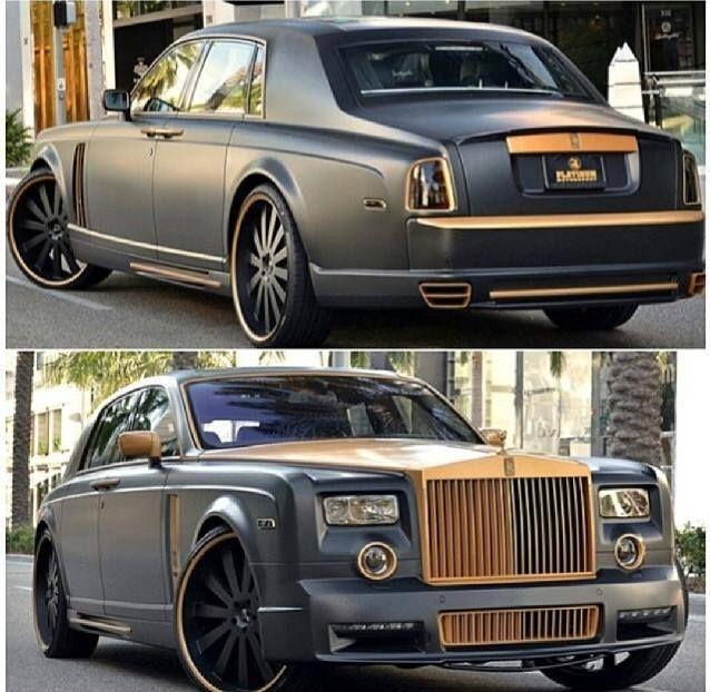 A Special Rolls Royce Phantom