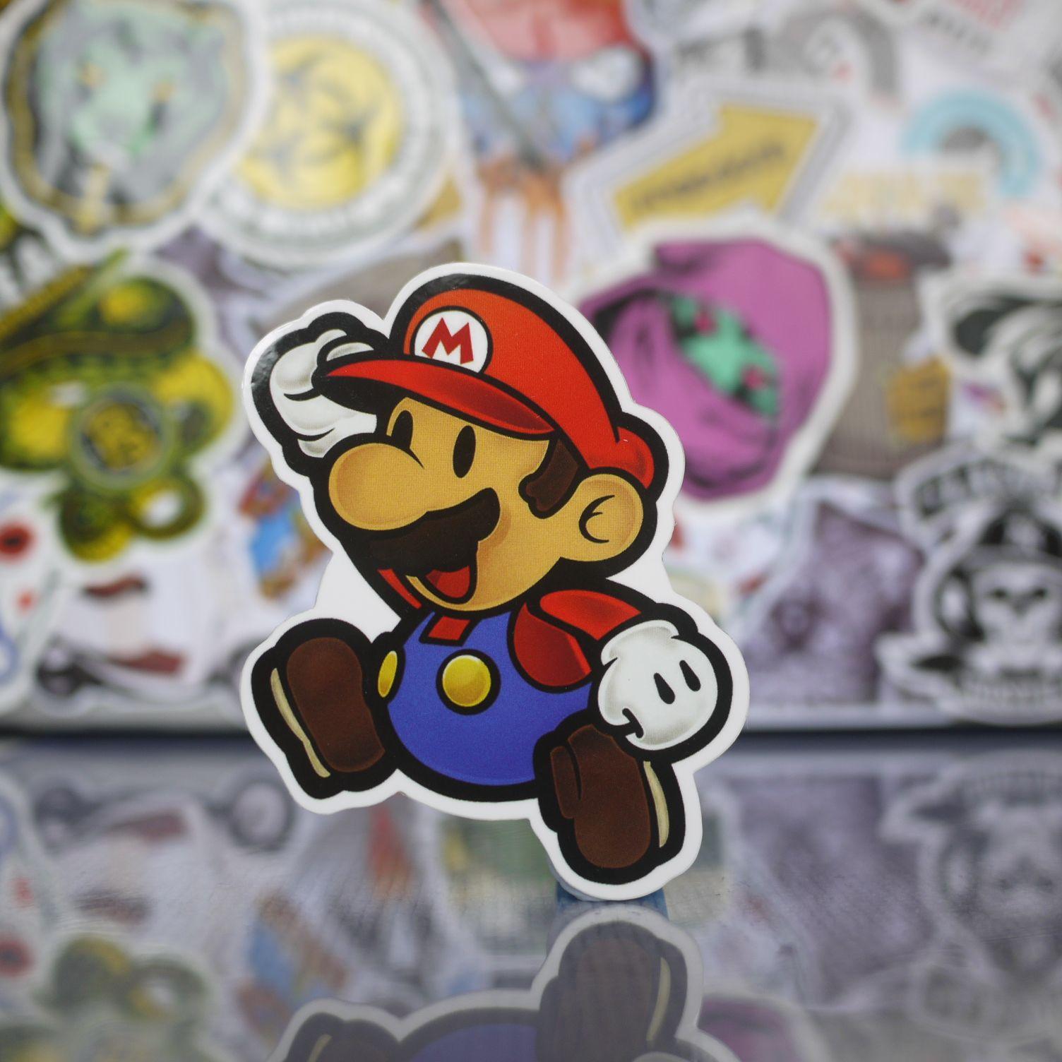 Super Mario Jumping Pose Sticker Jumping Poses 58ab16b5238