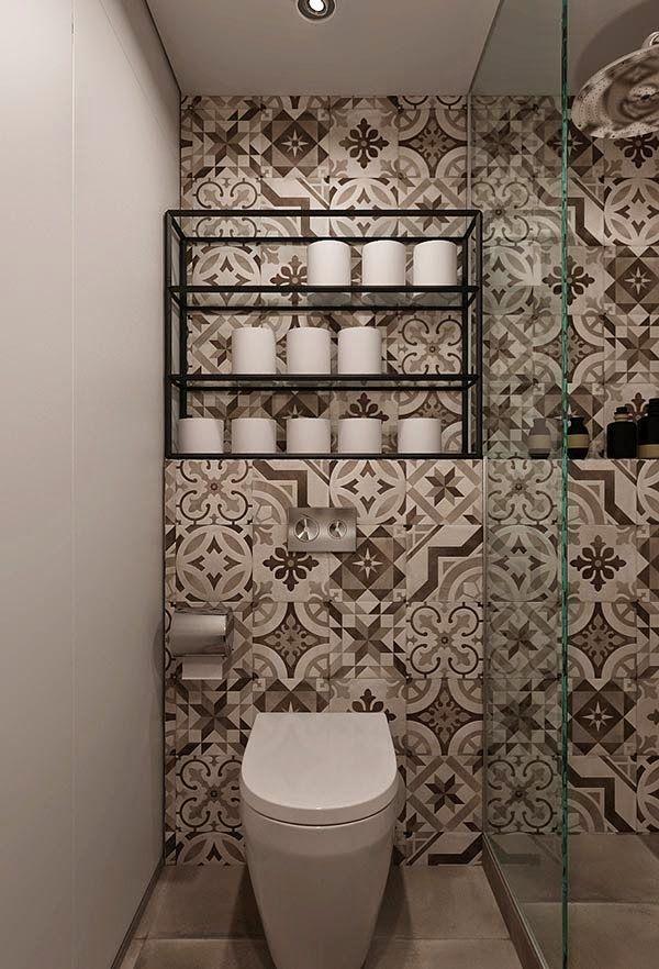 13 ba o peque o y estrecho pared azulejos estampados - Alicatado banos pequenos ...
