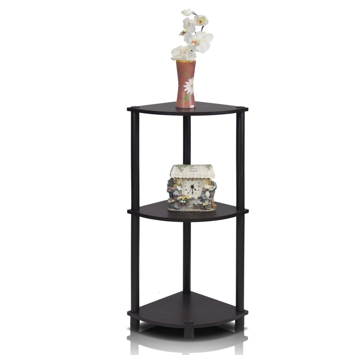 Corner End Table End Tables Pinterest Corner Industrial And - Black corner end table