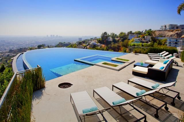 If You Are Looking For The Best Infinity Pool In L A Look No
