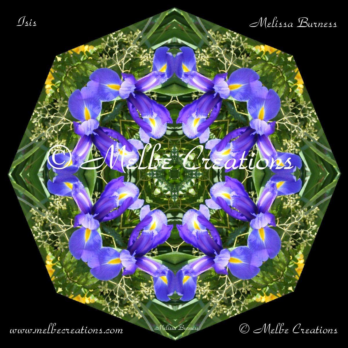 Bear Glass Paperweight Kaleidoscope Mandala Bear