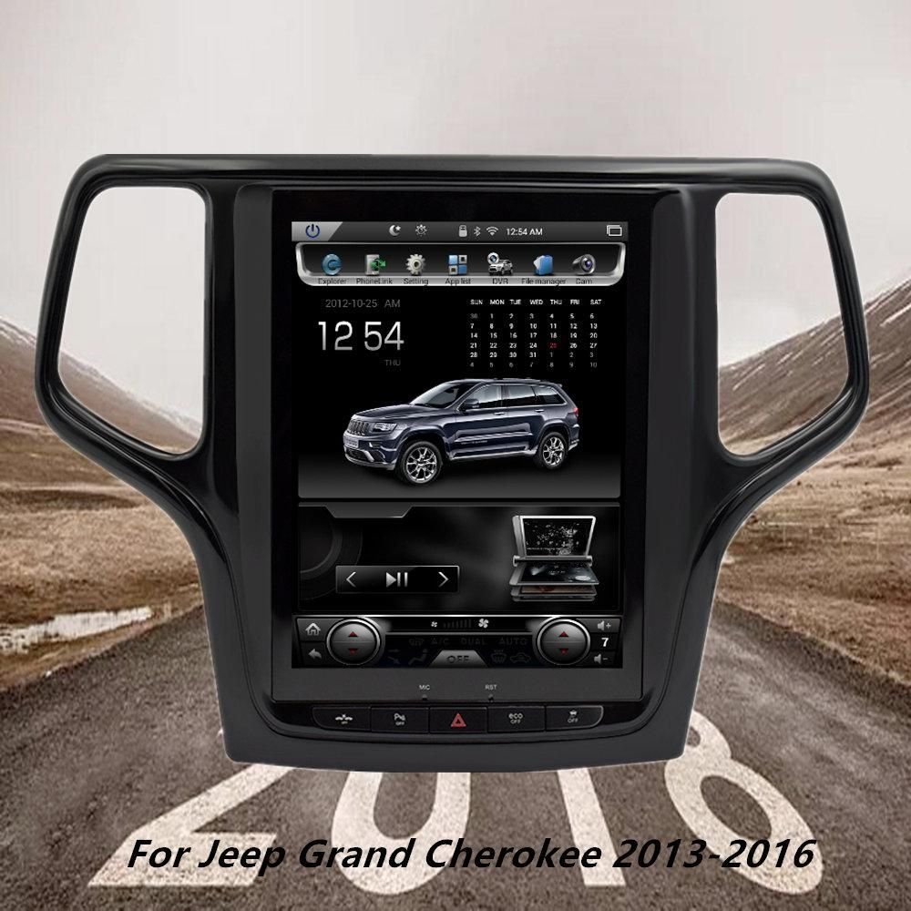 """10.4"""" Vertical Screen Android Car Radio For Jeep Grand"""