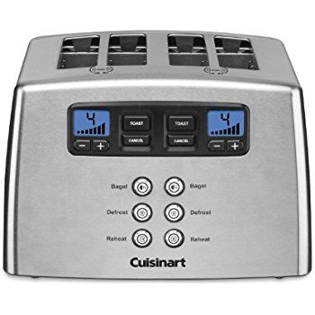 Cuisinart Cpt 440 Touch To Toast Leverless 4 Slice Toaster Cuisinart Toaster Toaster Stainless Steel Toaster