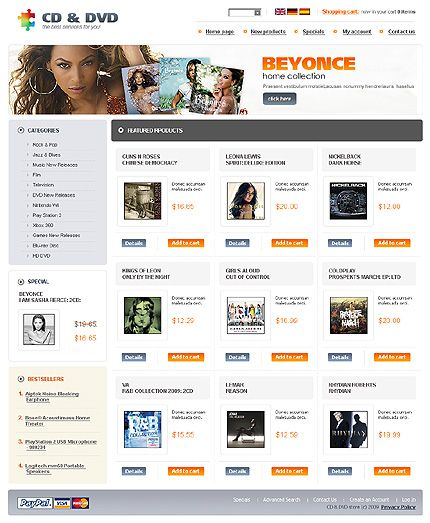 17 Best images about DVD Store osCommerce on Pinterest | Shops ...