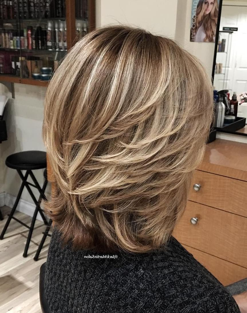 ladies feathered hairstyles fade