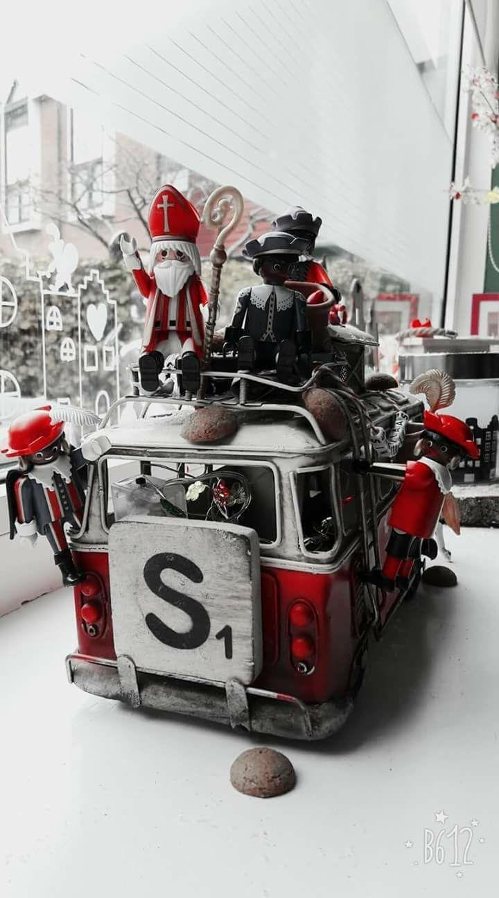 Tante S Fr Loves This Sinterklaas Pkaymobil Sinterklaas Decoratie Ideeen Zwarte Piet