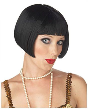 Flapper Hairstyles short bob with long hair beauty zone Create Your Own Faux Bob Or Use Bob Style Wigs To Accompany Your 30s Black Bob Hairstylesflapper