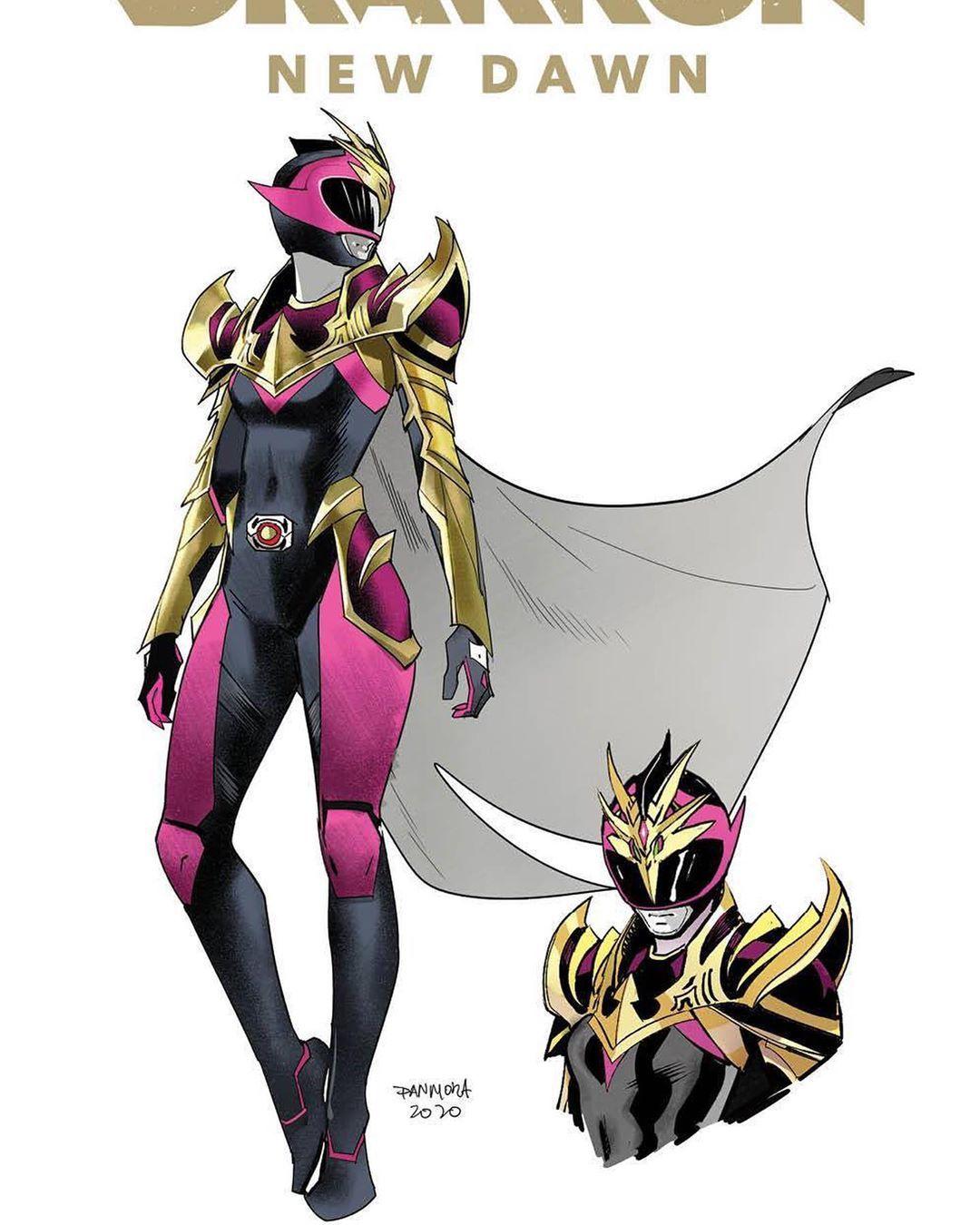 Dan Mora Chaves On Instagram Powerrangers Drakkonnewdawn Character Design In 2020 Power Rangers Power Rangers Art Ranger