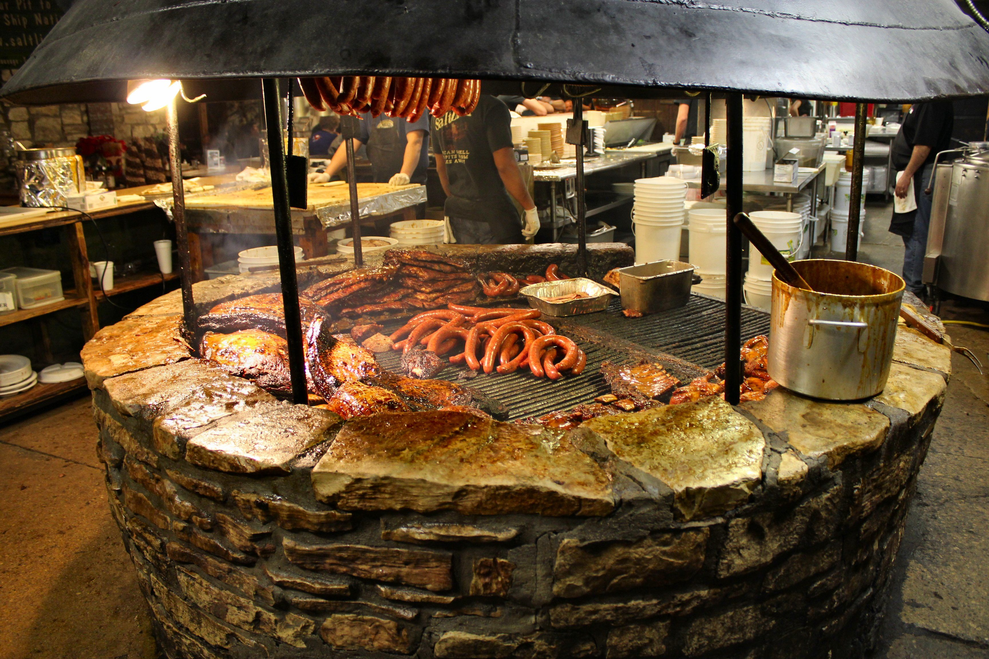 The Salt Lick in Austin, TX! Well, it\'s really in Driftwood,TX but ...
