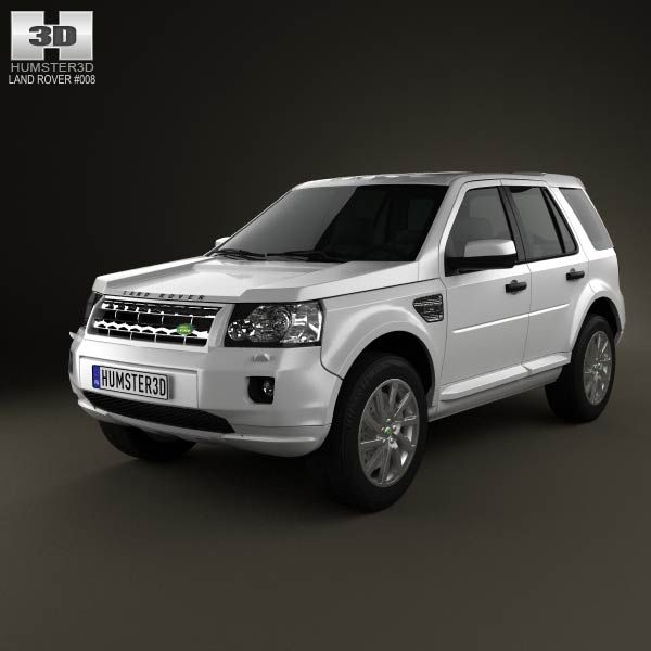Land-Rover Freelander 2 (LR2) 3d Model From Humster3d.com