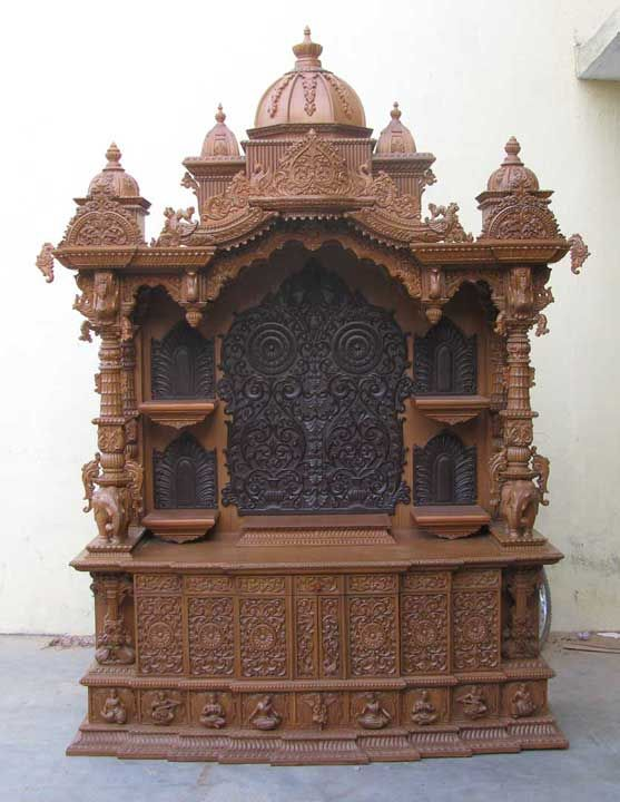 Wood Temple Mandir Designs for Home With Prices House Wooden