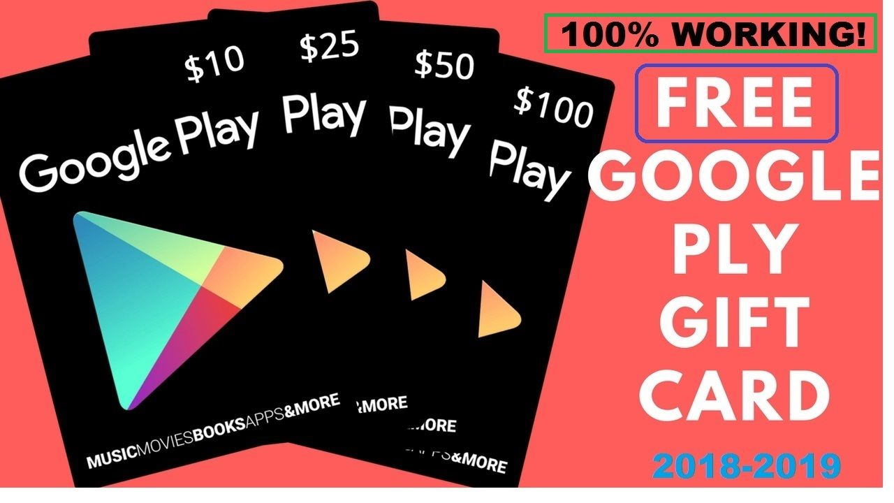 Free Google Play Gift Card Google Play Gift Code Hack Playstore