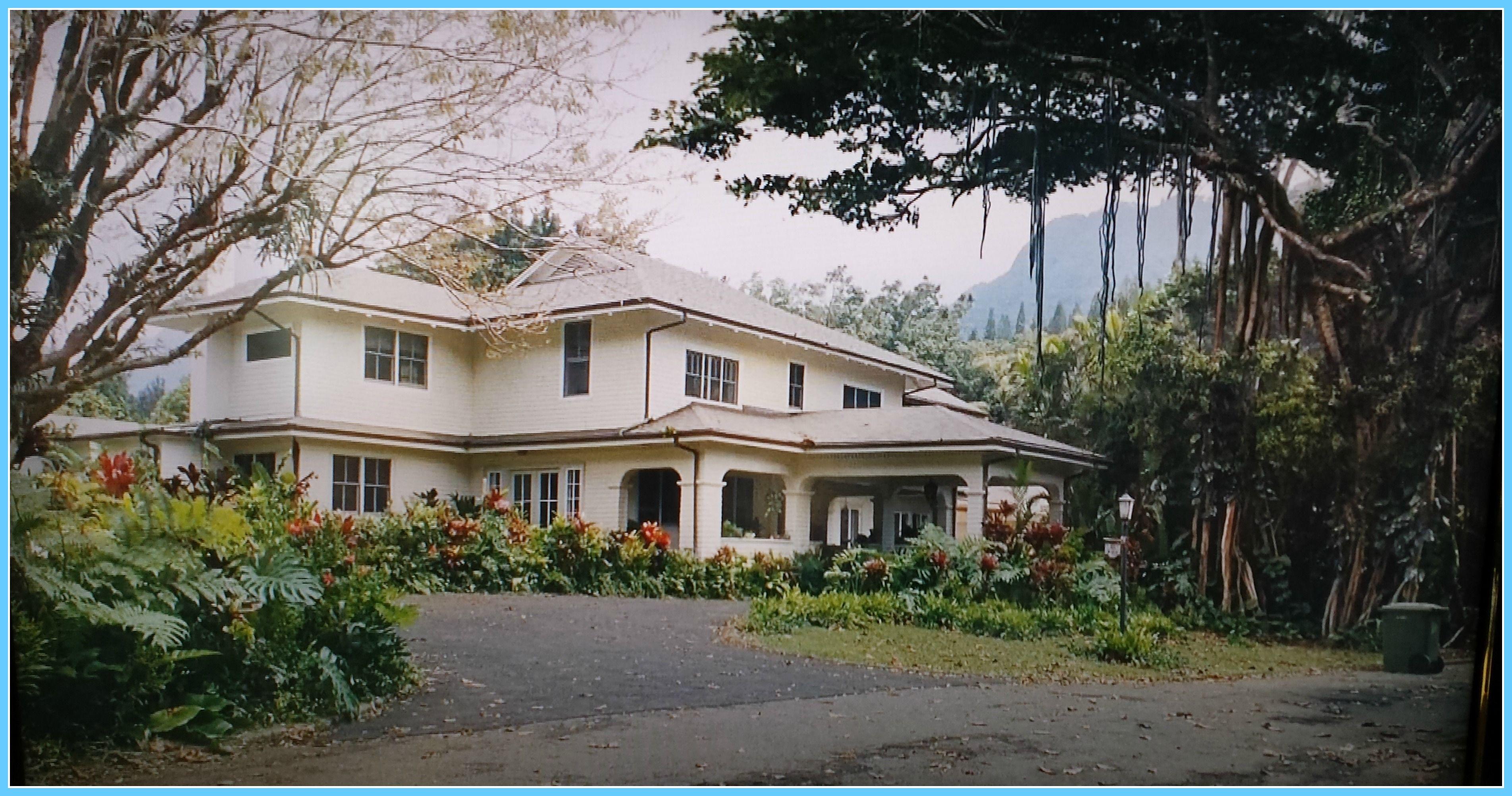 Matt king house as seen in the descendants movie