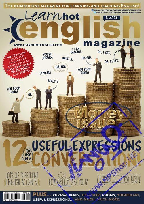 دانلود مجله Learn Hot English (آموزش زبان) شماره 178 + فایل