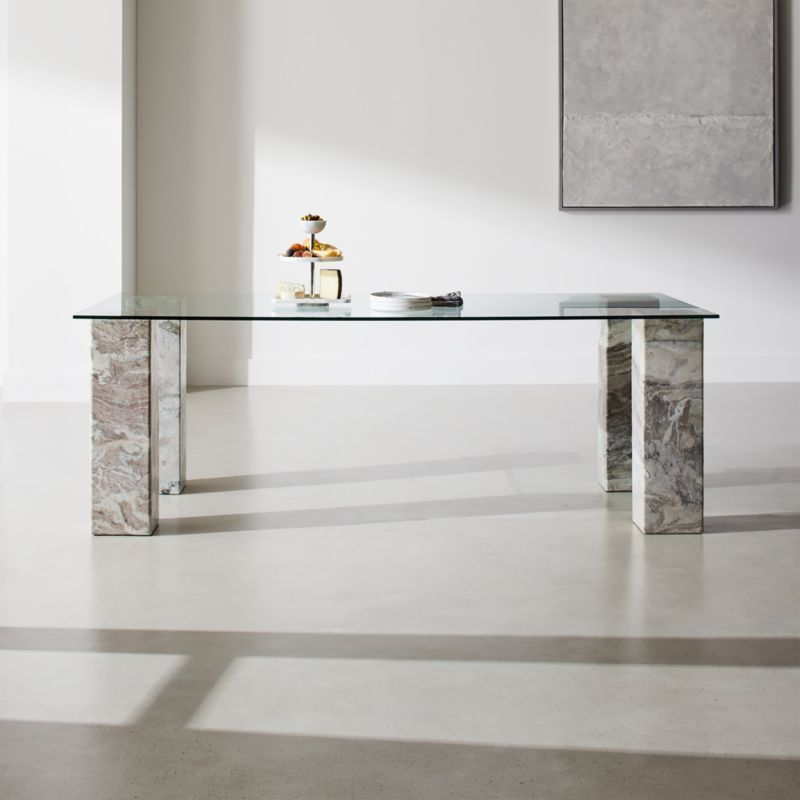Triple Dining Table With Rectangle Top Reviews Cb2 Dining Table Marble Modern Dining Table Dining Table