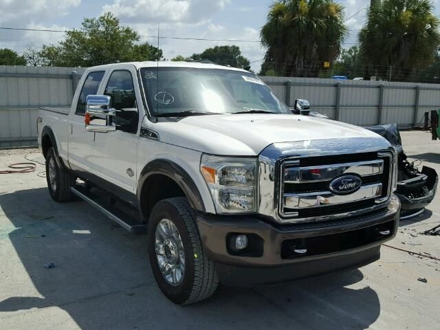 Salvage 2016 Ford F250 King Ranch Pickup For Rebuilt Le