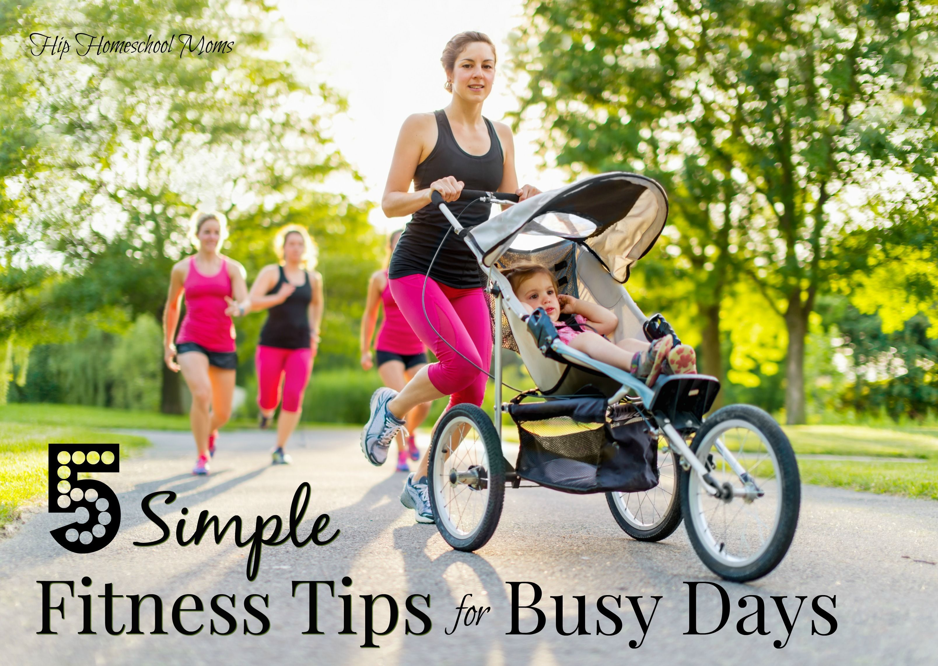 5 Simple Fitness Tips for Busy Days Baby strollers