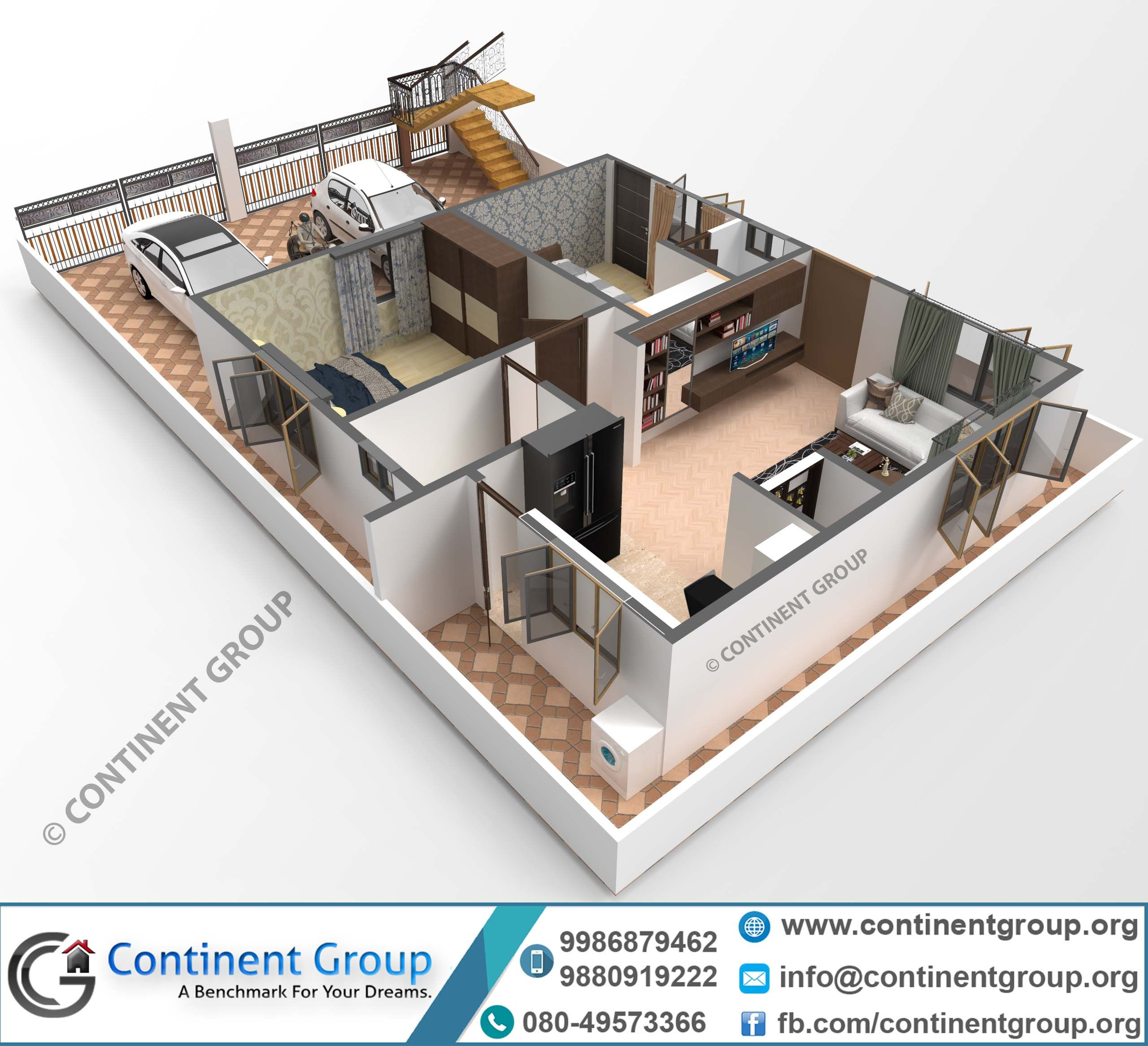 3d Floor Plan Building Plan 30x40 3d Plan Small House Elevation Design Building Front Designs Interior Design Drawings