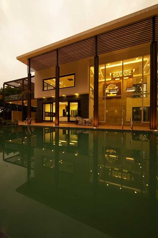 Architecture Design For Home In Delhi sachdeva farmhouse, new delhi by: spaces architects, new delhi