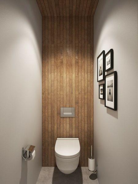 Déco WC bois   SU Deco - Bathroom   Salle de bain, Déco ...