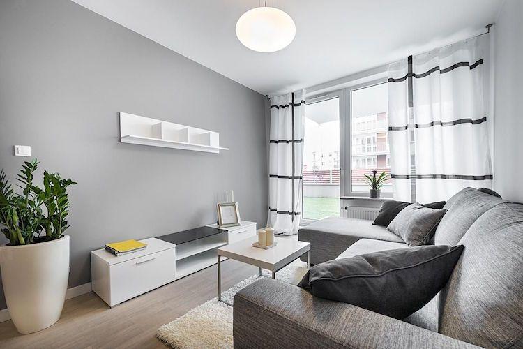 quelle couleur pour agrandir une pi ce les meilleures astuces d co en 30 photos salon. Black Bedroom Furniture Sets. Home Design Ideas