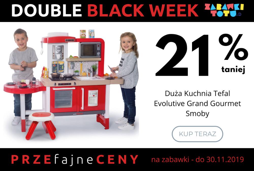 Podwojny Black Week Dwa Tygodnie Promocji Na Zabawki W Czarny Piatek Klocki Lego Lalki Gry Puzzle Domki Wozki Dla Tefal Black Friday Black Friday 2019