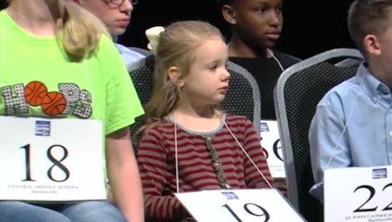 5 year-old homeschooler wins regional Scripps Spelling Bee