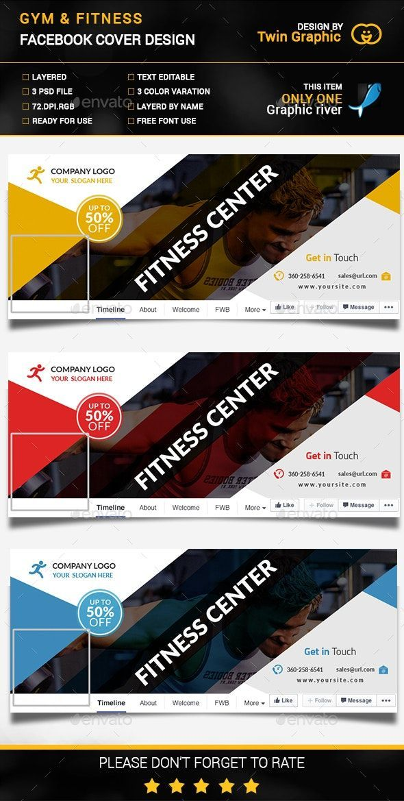 #affiliate #fitness #design #cover #photo #gym #ampGym & Fitness cover photo design.Gym & Fitness co...
