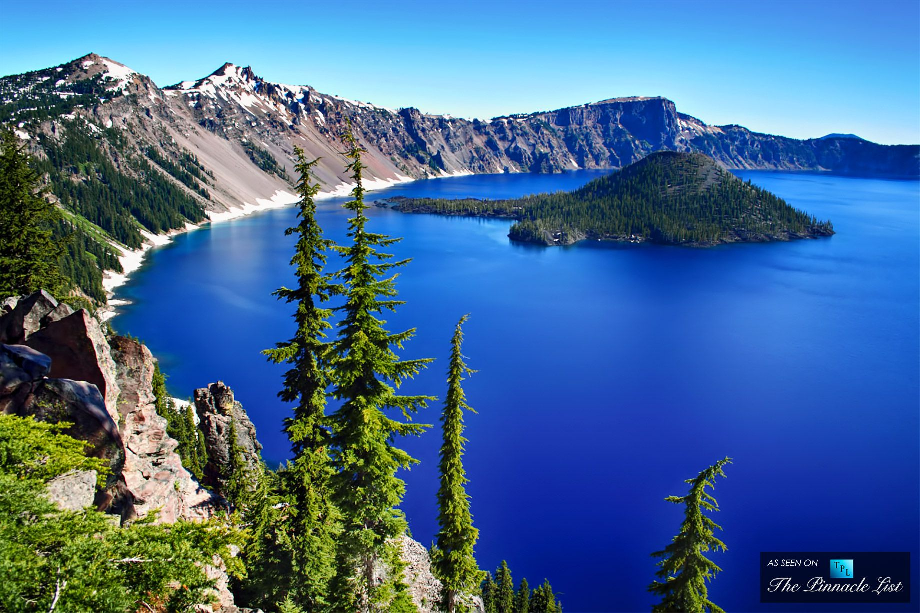Crater Lake Americas Deepest Crystal Blue Water Lake In Oregon - 10 cool landmarks in crater lake national park