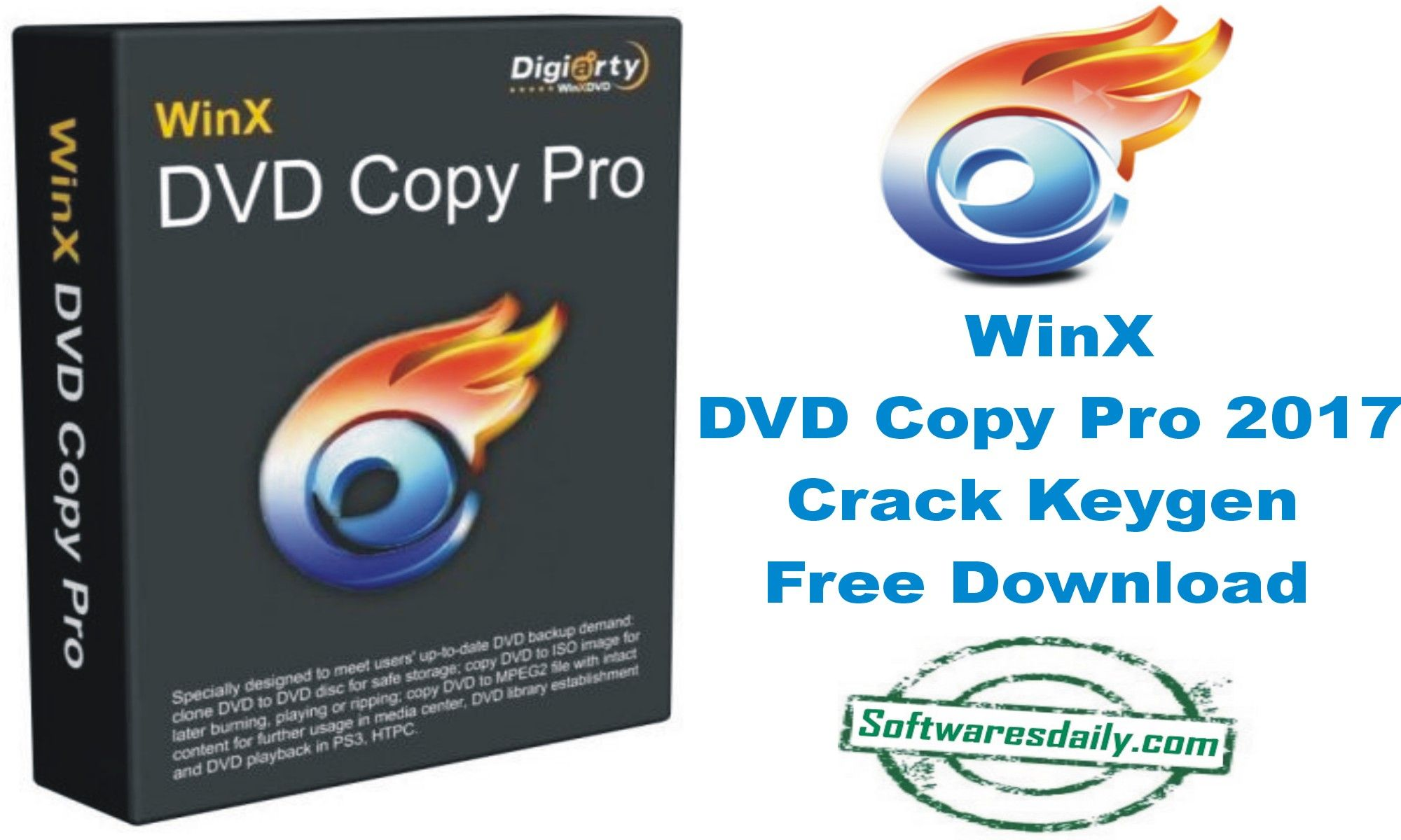 WinX DVD Copy Pro 2017 Crack Keygen Free Download, WinX DVD Copy Pro