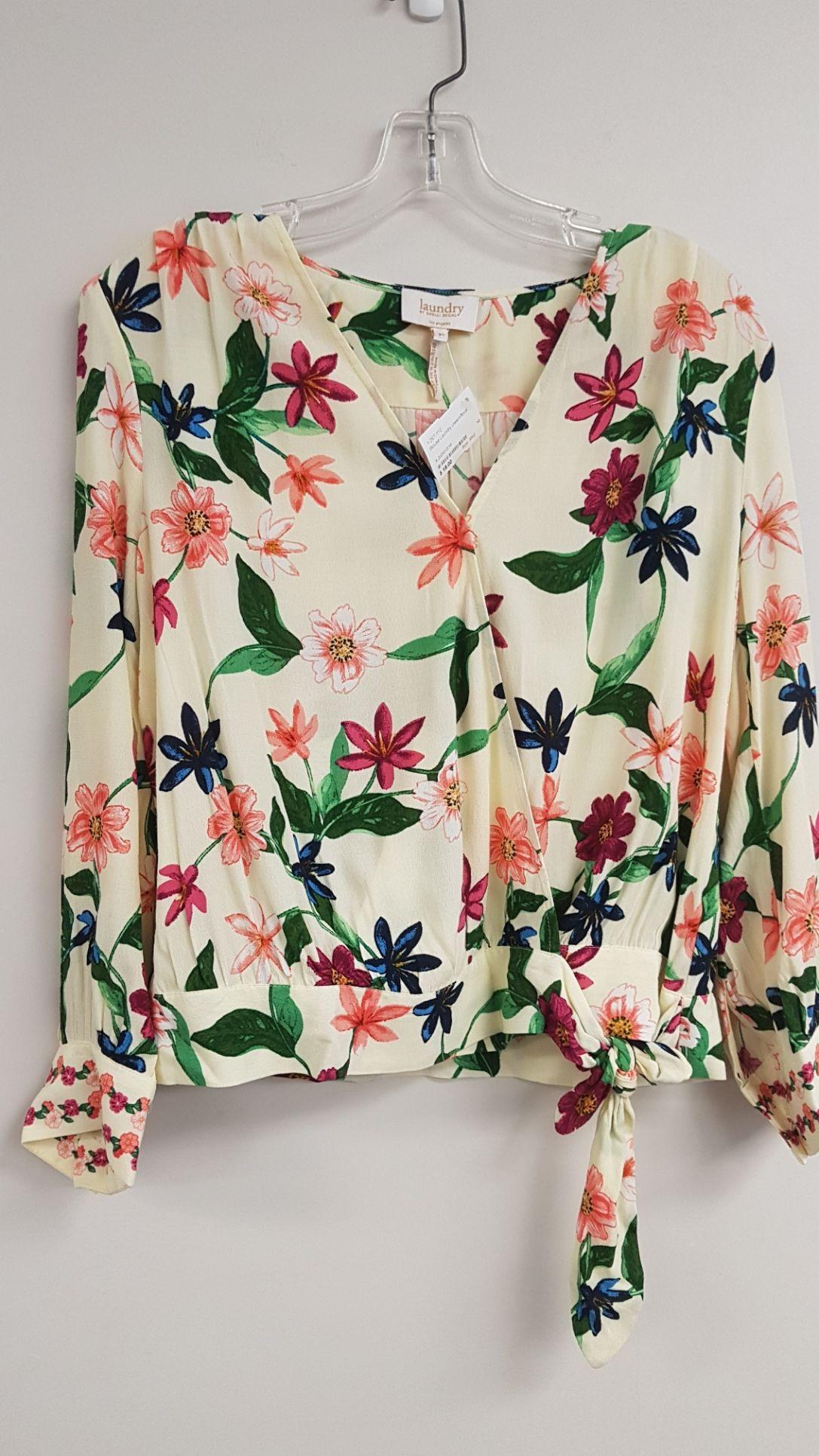 Laundry floral blouse in 2020 Blouse, Fashion, Floral blouse