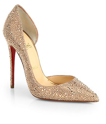 62ef98216383c9 Christian Louboutin Iriza Strass Crystal Pumps