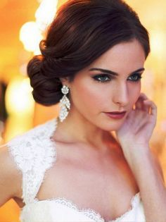 Stunning Hairstyle For Evening Gown Gallery - Style and Ideas ...