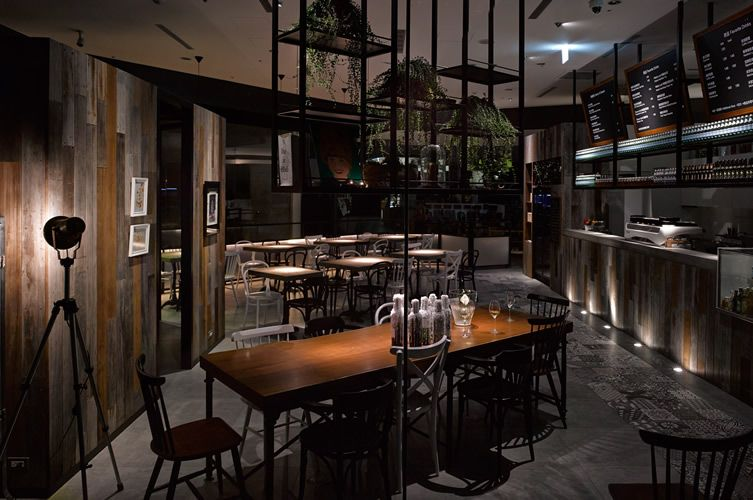 Smoky Cafe Gallery Rises From The Ashes Of Taipei Tobacco Factory Cafe Design Hotel Interior Design Restaurant Design