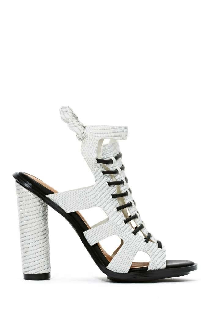 0cb2d9e83 Shoe Cult Carmela Sandal - Black White