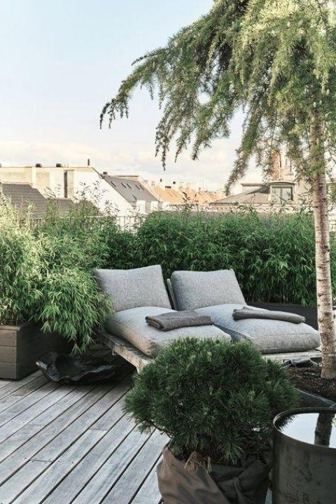 ZONZ Style   Rooftop Hangout op je dakterras   Tuin inspiratie schaduwdoeken 2019
