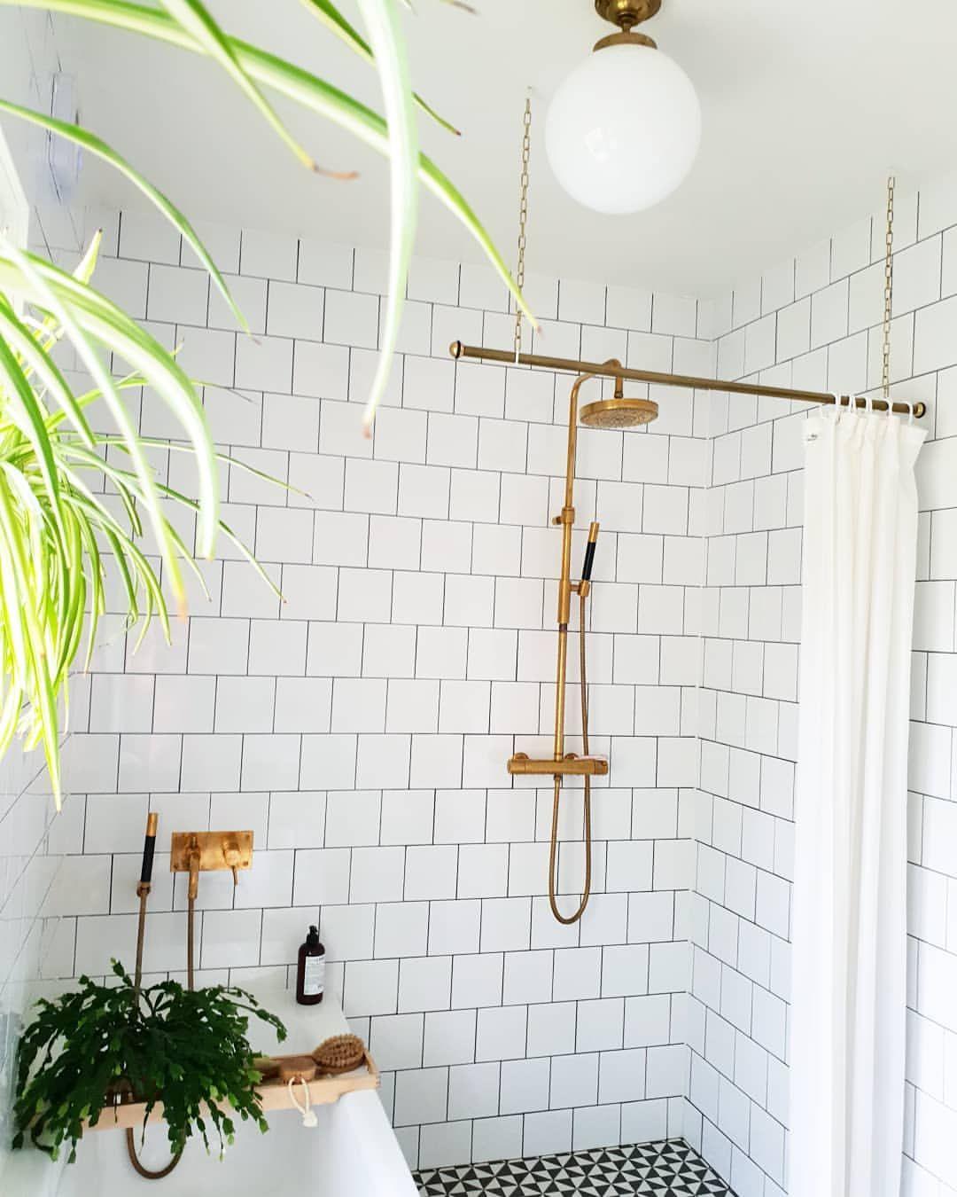 Badeforhæng Stang stang til badeforhæng | decor - bathroom